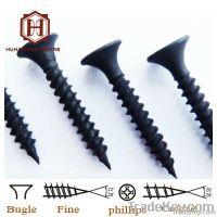 black drywall screw & gypsum board screw, fine quality