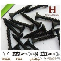 drywall profile, black drywall screw, fine thread