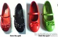 beautiful and comfortable girls flat shoes, children dress shoes