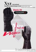 Motorbike water proof gloves