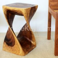 Twist Stool 12 in SQ x 20
