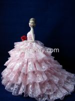 Barbie doll wedding dress clothes