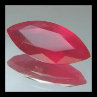 Synthetic Ruby 5#  Marquise Red gemstone Polished Loose Gemstone Factory Price blood Ruby Gemstone