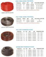 PVC, EPDM FIRE HOSE