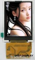 2.8-inch TFT LCD  Resolution: 320 X 240 pixels Outline:50*69.2*2.85mm