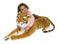 Giant Plush Tiger