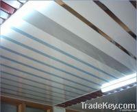 H shape linear aluminum ceiling