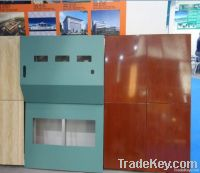 low price Aluminum Panel with Special Shape