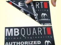 supply silkscreen printed removable Switch Sticker with 10mil thickness
