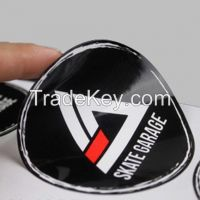 PVC/PP/PET/PS adhesive sticker label