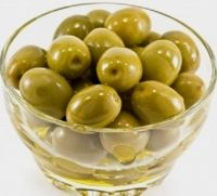 natural green olives
