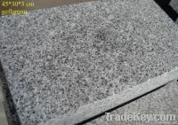 G654 Flamed Black Granite Tiles