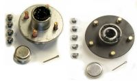 trailer axle, axle parts, axle kits, spindle, hubs, drum