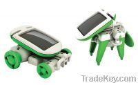 Kit Toy Gift 6 in 1 Solar Robot Chameleon Assemble and Install