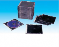 cd box CD case  cd cover 5.2mm slim  with black tray (YP-E501)