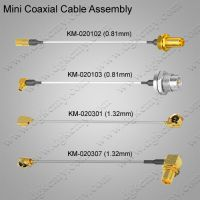 Coaxial Cable Assembly (0.81mm / 1.32mm)