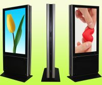 55 inch standing lcd digital advertising display with pc and android