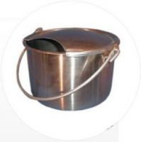 Goat Milk Pails - Stainless Steel