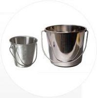 Milk Buckets - Stainless Steel & Aluminium