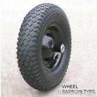 Wheel barrow rubber tyres