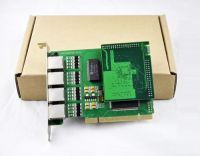 Quad span asterisk E1 PRI card with EC module, asterisk pci e1 card, voip e1 card, ivr
