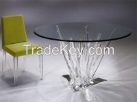 Acrylic diinnig table  Elegant Design
