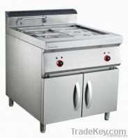 Luxury Floor Type Electric Bain Marie With Cabinet FT-884