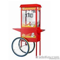 Popcorn Maker with Handcart