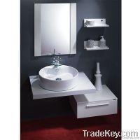 Modern White Bathroom Cabinet (OP-W154-IX)