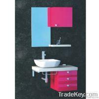 Block Board Bathroom Cabinet (OP-W183-85Z)