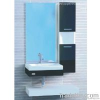 Modern Block Board Bathroom Cabinet (OP-W190-90)