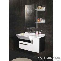 Wooden Wall Mounted Bathroom Cabinet (OP-W1127)