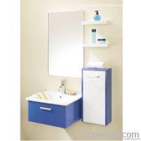 Block Board Bathroom Cabinet (OP-W1124)