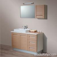 Composite Solid Board Bathroom Cabinet (OP-W1175-120F)