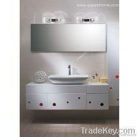 White Bathroom Cabinet (OP-W1189-150)
