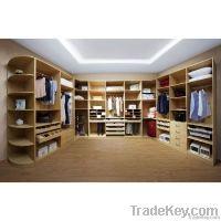 Wood Cloakroom Wardrobe