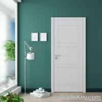White Wooden Interior  Door