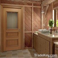 Wood Doors Beveled Glass
