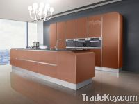 OPPEIN Lacquer Kitchen Cabinet
