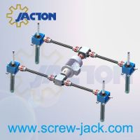 self locking lift table, 4 post screw lifting system, screw lift system manufacturers and suppliers