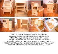 oak Condole ark wine cabinet
