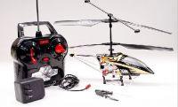 3CH Alloy Shark RTF Mini RC Helicopter(dark gloden)