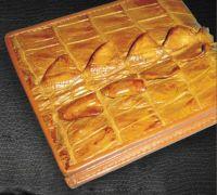 Crocodile Wallet - Trifold Wallet