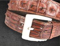 Crocodile Hornback Belt