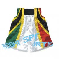 Custom Design 100% Polyester Fabric Muay Thai Shorts