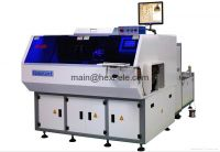 Axial components inserting machine
