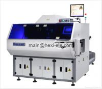 Radial components inserting machine