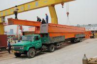 electric hoist twin beam bridge crane