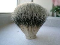 silver tip badger  hair shaving brush