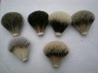 pure badger hair shaving brush head